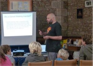 A talk on Cornish Wrestling by Simon Reed