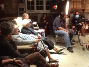 Recording residents on film with Orson Cornick